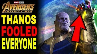 Thanos Changed ALL of Reality in Avengers Infinity War