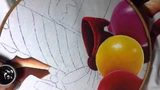 Pintura en tela esferas 4 con cony