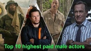 Top 10 highest paid male actors - 2018
