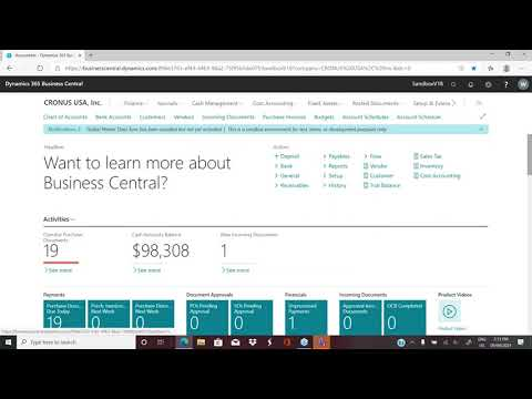 How to Customize Out-of-the-Box Reports in Dynamics 365 Business Central: Canned Reports