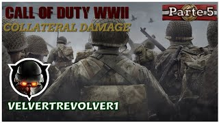 Call of Duty®: WWII (PS4) Gamplay Mission 5 COLLATERAL DAMAGE (No Comentary)