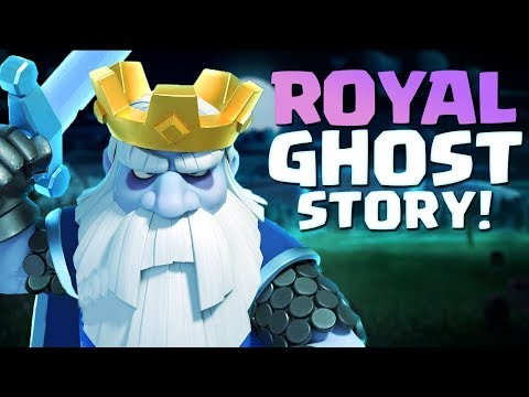 Clash Royale Origin Story | Who is the Royal Ghost? How did the Royal Ghost Become a Ghost?