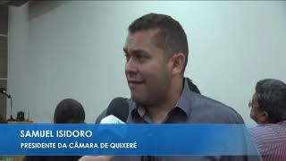 Samuel Isidoro - Posse da mesa diretora câmara municipal de Limoeiro do Norte