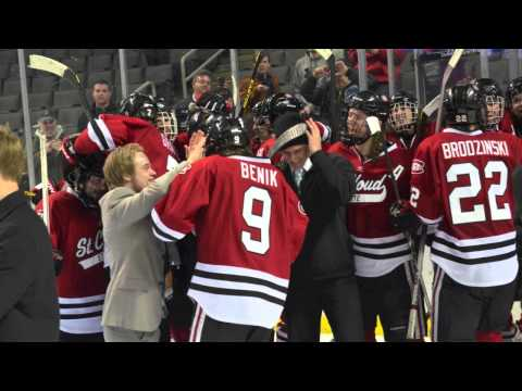 SCSU's Ben Hanowski on NHL Network's College Hockey Radio Segment