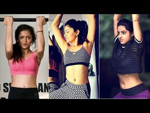 TV Actresses HOT GYM WORKOUT | Drashti Dhami | Rubina Dilaik| Deepika Singh | Hina Khan thumbnail