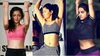 TV Actresses HOT GYM WORKOUT | Drashti Dhami | Rubina Dilaik| Deepika Singh | Hina Khan