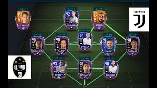 JUVENTUS SQUAD BUILDER | FULL MASTERS | 90 TO 101 OVR | FIFA MOBILE 20