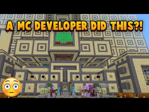 I Toured A Minecraft Developers Survival World, It Was Incredible