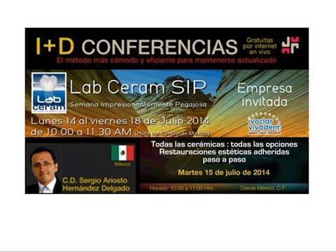 224 Lab ceram SIP | Dr. Sergio Hernández | Todas las cerámicas : Todas las opciones