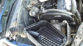 Замена воздушного фильтра двигателя Chevrolet Lacetti