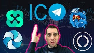 $1.7 Billion Telegram ICO!?! $ETHOS New CIO   Dragchain $HPB Odyssey Updates   $ONC $DRGN $TON