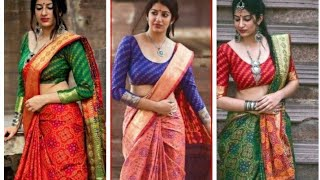 Hrishita Ravishing Gorgeous Patola Silk Zari Woven Sarees Vol 1