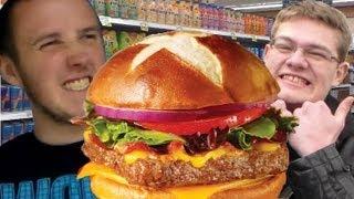 Travtries - Wendy's Pretzel Bacon Cheeseburger