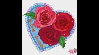 Раскраска. Цветы. Любовь. Мое творчество