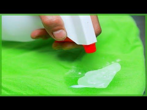Чем отстирать герметик с одежды