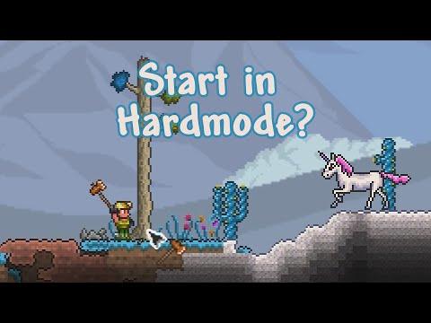Terraria, but it's Expert Hardmode immediately