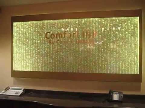 Custom Water Panel Bubble Wall with LED Lighting-Amazing ...