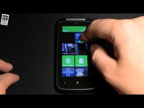 Обзор HTC Mozart