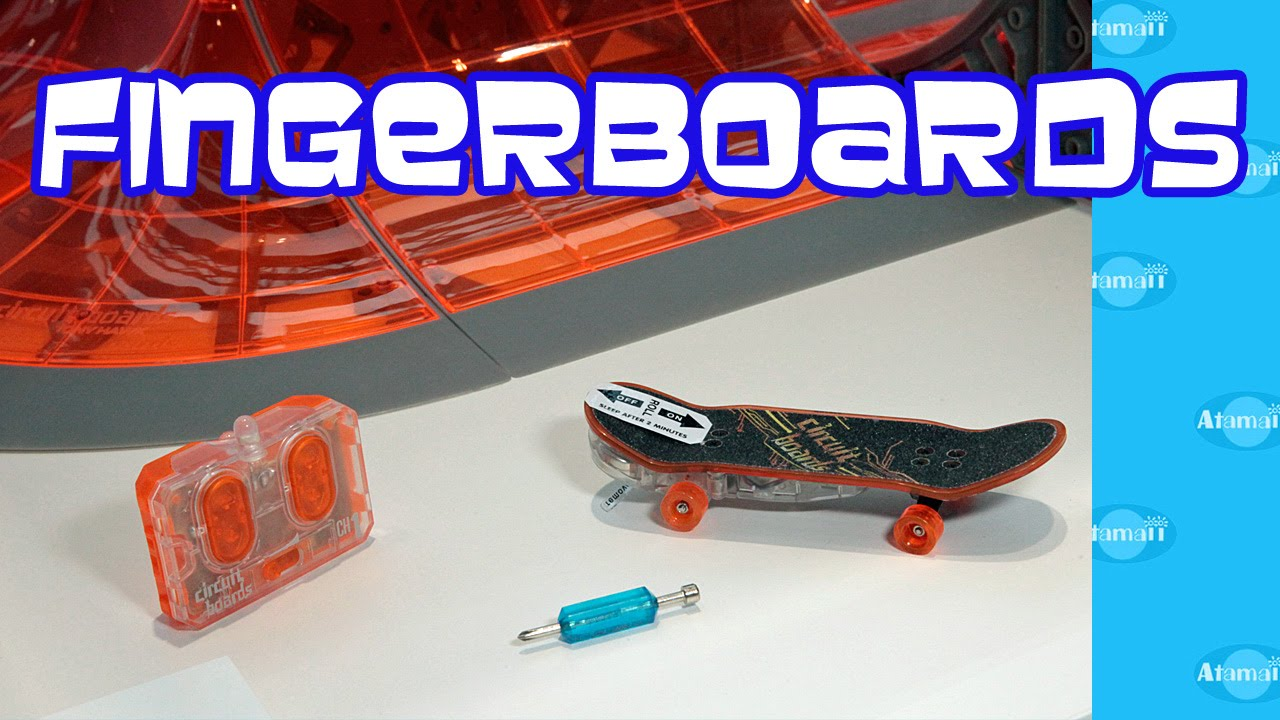 tony hawk fingerboards circuit boards by hexbug youtube rh youtube com