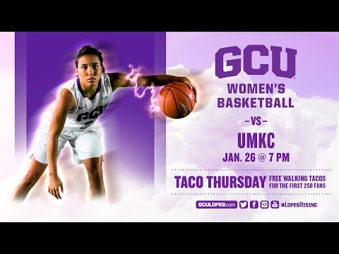 Women's Basketball vs UMKC Jan 26th, 2017