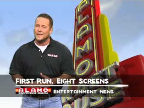 Alamo Drafthouse Cinema Commercial #1 with J. Riley
