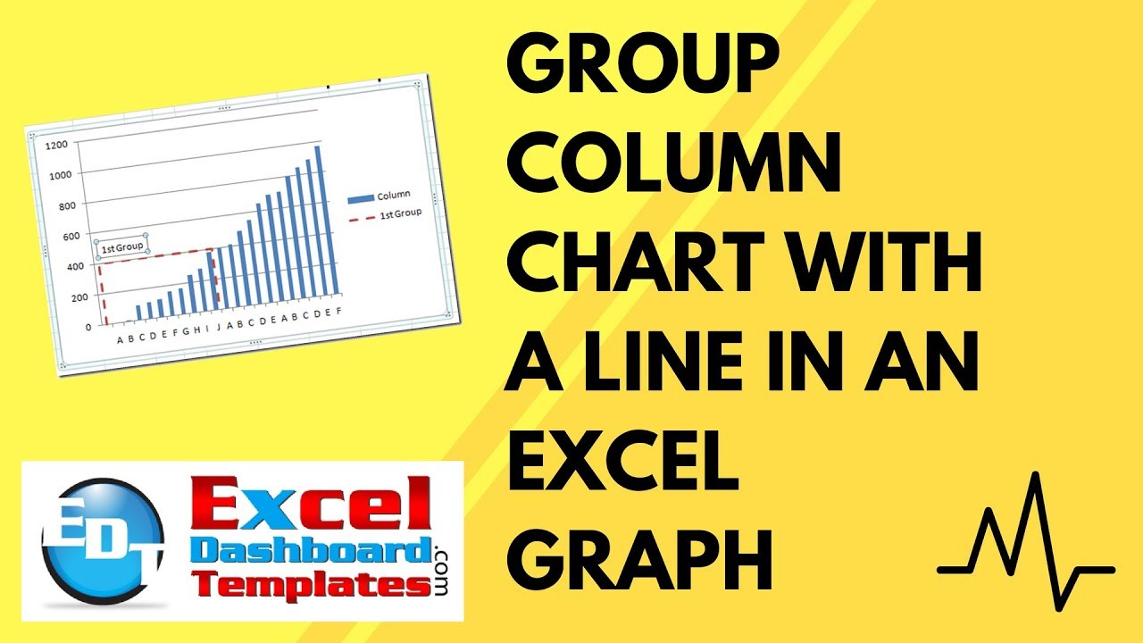 Group column chart with a line in an excel graph dashboard how to group column chart with a line in an excel graph dashboard how to tutorial excel dashboard templates alramifo Choice Image