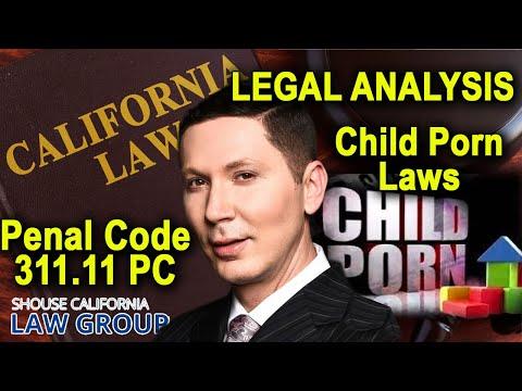 California Child Pornography Laws   Penal Code 311.11