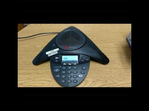 Conference phone setup