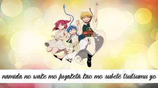 Magi: The Kingdom Of Magic Opening 2 (Lyrics)