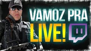 LIVE PEGANDO DIMANTE E 20 MIL INSCRITOS! Rankeds Rainbow Six Siege FULL FOCO!