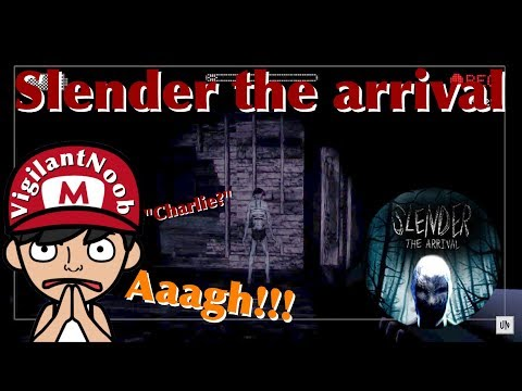 SLENDER THE ARRIVAL | THIS SHIT IS SCARY!!!!!!!!!!
