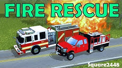 Lake Valley Fire Rescue Brush Fire Response! Farming Simulator 2017