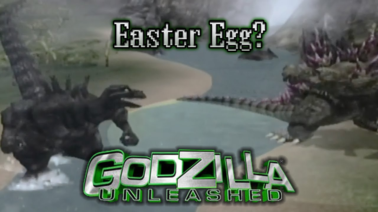 wii godzilla 1954 easter egg godzilla unleashed