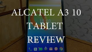 Review of Alcatel A3 10 (2017)