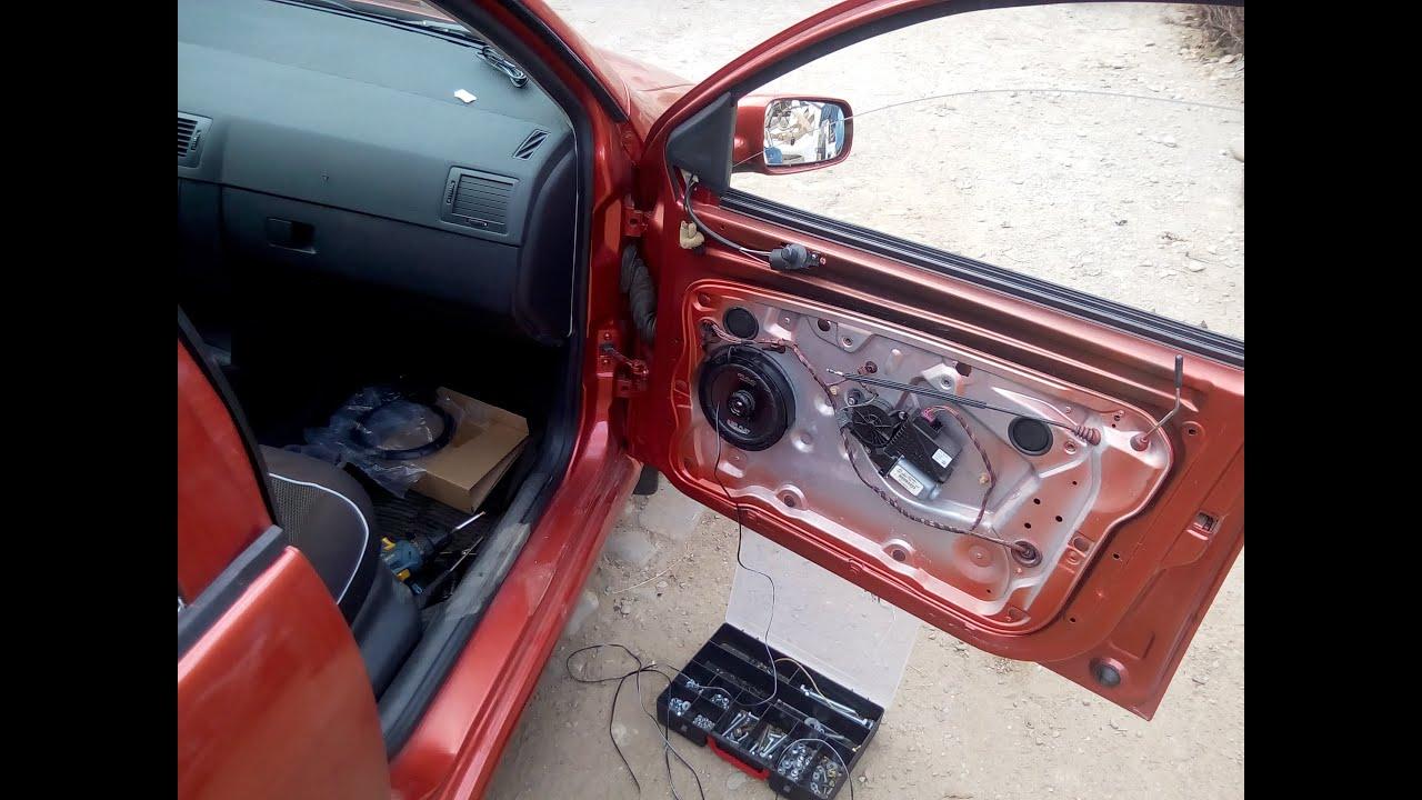 Installing Aftermarket Speakers Mac Audio Star Flat 16 2