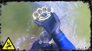 metal-detecting-uk-knuckle-duster-found-underwater