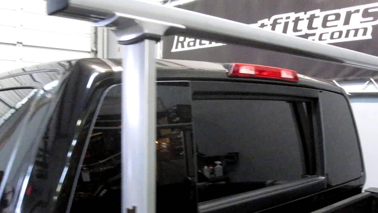 2013 Nissan Titan With Thule 500 Xsporter Pro Adjustable
