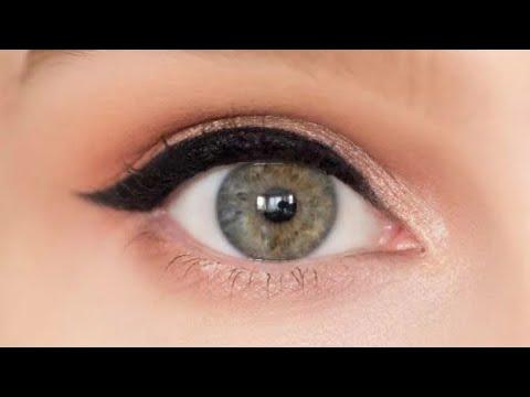 Как правильно подводить глаза карандашом.