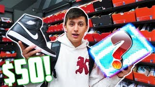 BEST $50 AIR JORDANS at NIKE OUTLET SHOPPING!