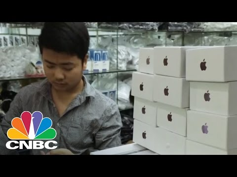 Black Market Apple Products | CNBC