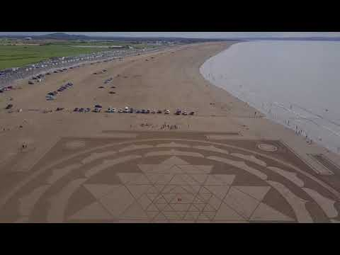Largest Sri Yantra Land Art In Europe