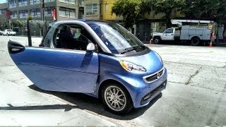 Tested Test Drives the Smart ForTwo Electric Car