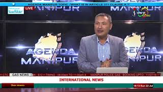 What is in Article 371 Clause A? on Agenda Manipur 22 July 2018
