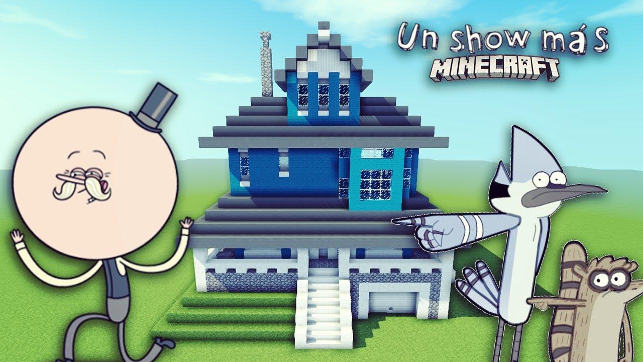 Como hacer la casa de un show mas en minecraft youtube for Como hacer piscicultura en casa