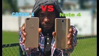 Tecno Camon X vs Infinix Note 4 Comparison