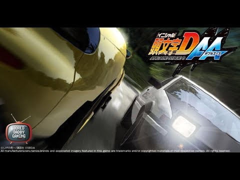 Initial D Arcade Stage 6 AA (Double Ace) Gameplay + Deja Vu