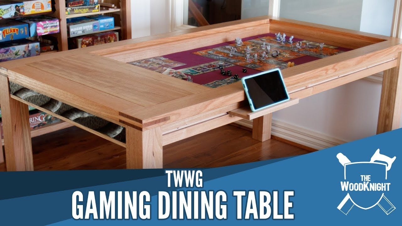 Gaming Dining Table Youtube