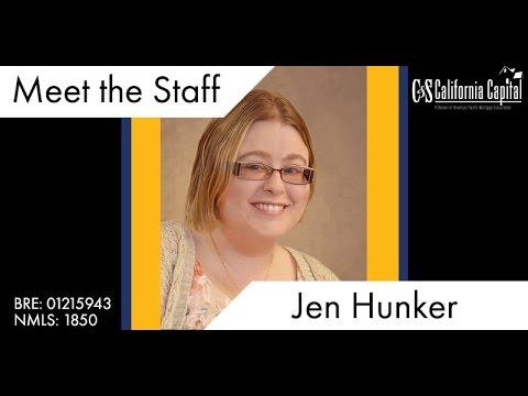 Meet the Team: Jennifer Hunker