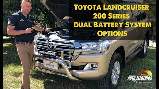 Dual Battery System Options for 200 Series Toyota Landcruiser | Accelerate Auto Electrics
