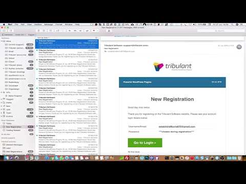 HTML Email Signature In MacOS Mail App - MacOS High Sierra
